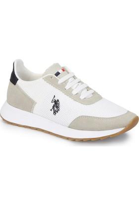 U.S. Polo Assn. Munıch Beyaz Kadın Sneaker