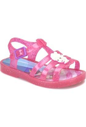 Frozen 92697 Fuşya Kız Çocuk Sandalet