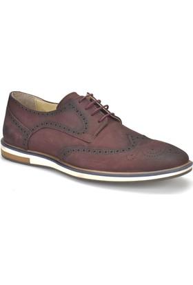 Garamond Prg-7 Bordo Erkek Deri Ayakkabı