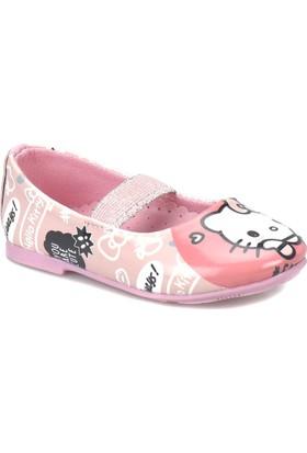 Hello Kitty 92373 Bk Pembe Kız Çocuk Babet