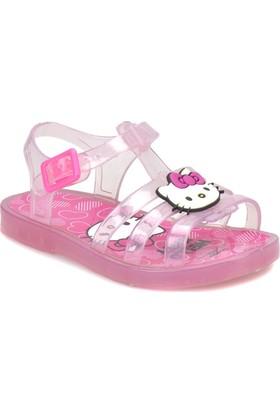 Hello Kitty 92698 Pembe Kız Çocuk Sandalet