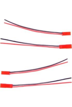 AMASS - 20Awg 10cm JST Kablolu Konnektör (1XErkek - 1XDişi)