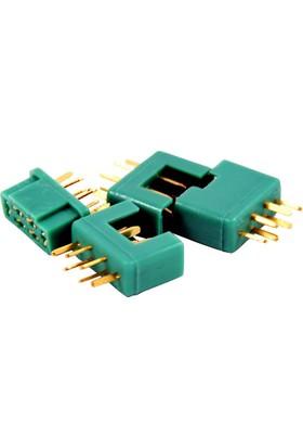AMASS - MPX Konnektör (2XErkek - 2XDişi)