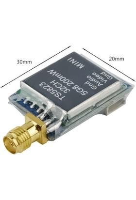 DYS - SkyZone TS5823 5.8GHz 32CH A/V 200mW Mini FPV Verici