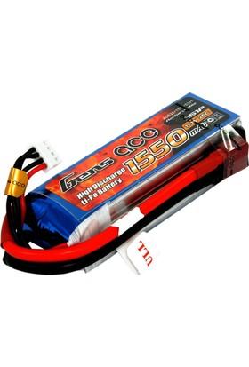 GENS ACE - 1550mAh 11.1V 25C 3S1P LiPo Batarya