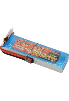 GENS ACE - 5000mAh 11.1V 45C 3S1P LiPo Batarya