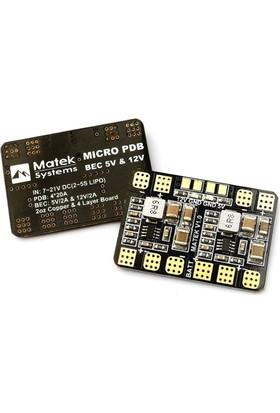 MATEKSYS - Micro PDB w/ Bec 5V & 12V