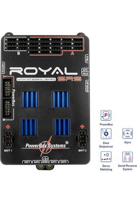 POWERBOX - PowerBox Royal SRS Incl. Switch LC-Display w/o GPS
