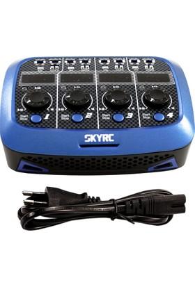 SKY-RC - Mikro Modeller İçin Quattro (4X1Cell Li-Po) Şarj Cihazı