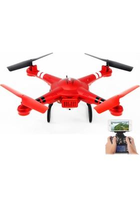 WL TOYS - Q222K Kırmızı - Kameralı Drone
