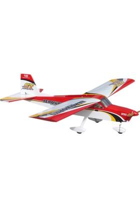 AEROWORKS - TrainerGT Kırmızı 20CC-30CC Model Uçak
