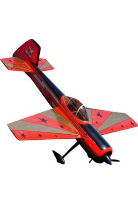AEROWORKS - Yak55M Kırmızı ARF-QB 100CC Model Uçak