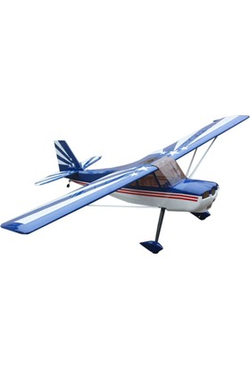 GOLDWING - Bellanca Decathlon V2-B Mavi 20CC-30CC Model Uçak