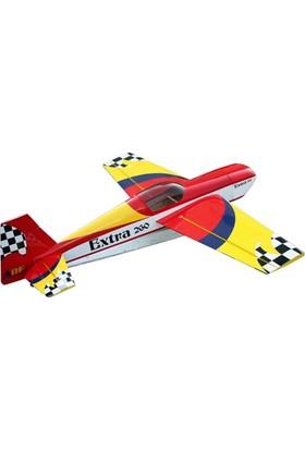 GOLDWING - Extra260 Sarı-Kırmızı ARF 20CC Model Uçak
