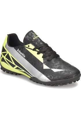Kinetix Adonıs Turf Siyah Gri Neon Yeşil Erkek Çocuk Halı Saha Ayakkabısı