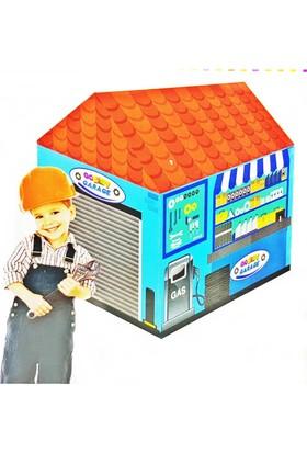Kkd Çocuk Garaj Oyun Evi Oyun Çadırı Kız Erkek Oyun Çadır