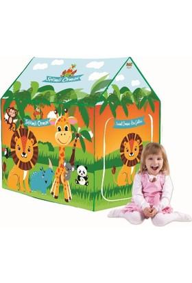 Kkd Çocuk Oyun Evi Oyun Çadırı Sevimli Ormanlar Alemi Oyun Evi