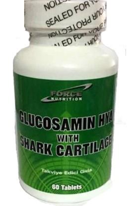 Force Nutrition Glucosamine Hyaluronic Acid With Shark Cartilage 60 Tablet