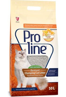 ProLine 10L Portakal Sabun Kokulu Kedi Kumu