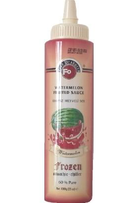 Fo Frozen Karpuz Meyveli Sos %60 Gerçek Meyve Püresi 1000 Gr