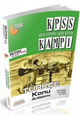 Kamu Park Yayınları Kpss Genel Yetenek Genel Kültür Kampı Türkçe Konu Anlatımı - Haydar Demirel