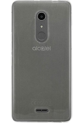 Teleplus Alcatel A3 XL İnce Silikon Kılıf Şeffaf