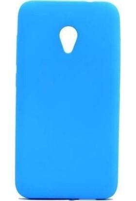 Teleplus Alcatel U5 Silikon Kılıf Mavi