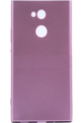Teleplus Sony Xperia XA2 Lüks Silikon Kılıf Rose Gold