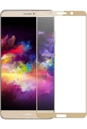 Teleplus Huawei Mate 10 Pro Tam Kapatan Cam Ekran Koruyucu Gold