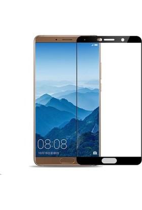 Teleplus Huawei Mate 10 Tam Kapatan Cam Ekran Koruyucu Siyah