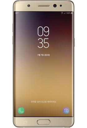 Teleplus Samsung Galaxy Note 7 Fan Tam Kapatan Cam Ekran Koruyucu Gold