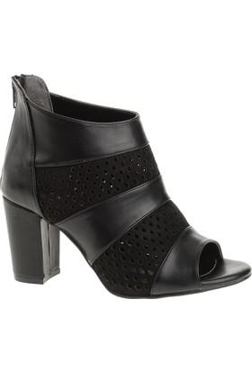 Derigo 4018068 Kadın Ayakkabı Siyah