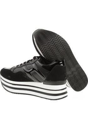 Derigo 22510 Siyah Kadın Günlük Ayakkabı