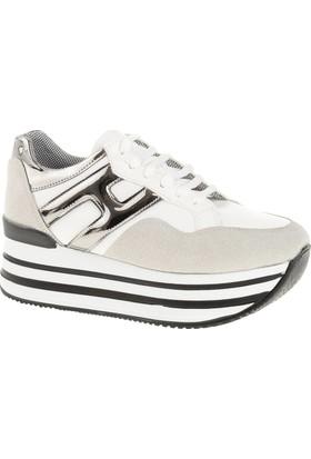 Derigo 22508 Kadın Ayakkabı Beyaz