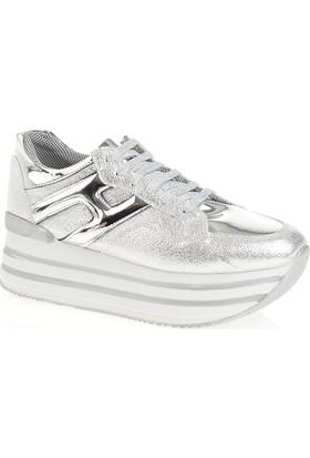 Derigo 22508 Kadın Ayakkabı Gümüş