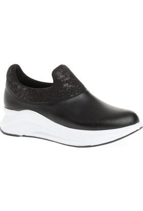 Derigo 22482 Kadın Ayakkabı Siyah - Beyaz