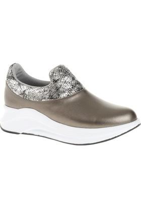 Derigo 22482 Kadın Ayakkabı Platin