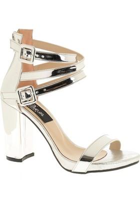 Derigo 4018149 Kadın Ayakkabı Gümüş