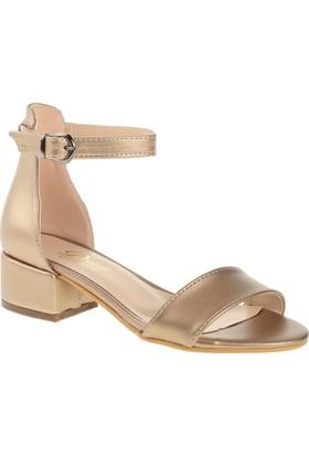 Derigo 19639 Kadın Ayakkabı Altın