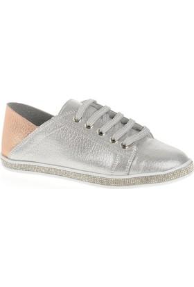 Derigo 2780 Kadın Ayakkabı Gümüş