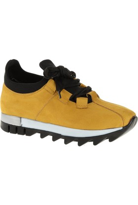 Derigo 34110 Kadın Ayakkabı Hardal