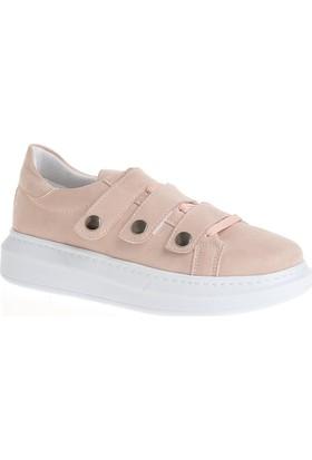 Derigo 34125 Kadın Ayakkabı Pudra