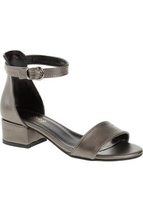 Derigo 19639 Kadın Ayakkabı Platin