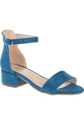 Derigo 19639 Kadın Ayakkabı Petrol - Mavi