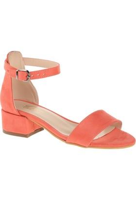 Derigo 19639 Kadın Ayakkabı Mercan