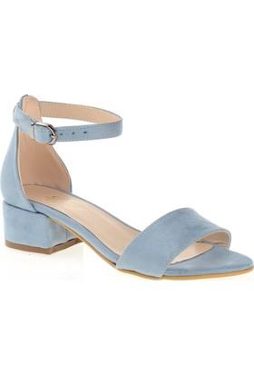 Derigo 19639 Kadın Ayakkabı Açık Mavi