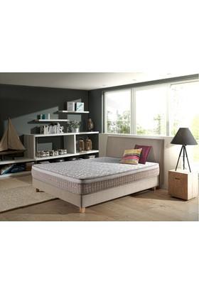 Sleeppeople Relax Latex Doğal Paket Yaylı Yatak 90x190 + Visco Yastık