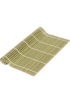 Globy Bambu Sushi Yapma Matı 24X24 Cm