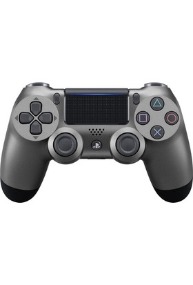 Ps4 Dualshock 4 Steel Black Kumanda V2