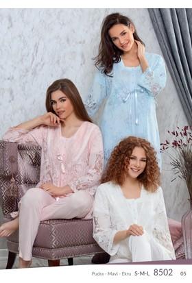 Tuba Lohusa 3'lü Pijama Takım